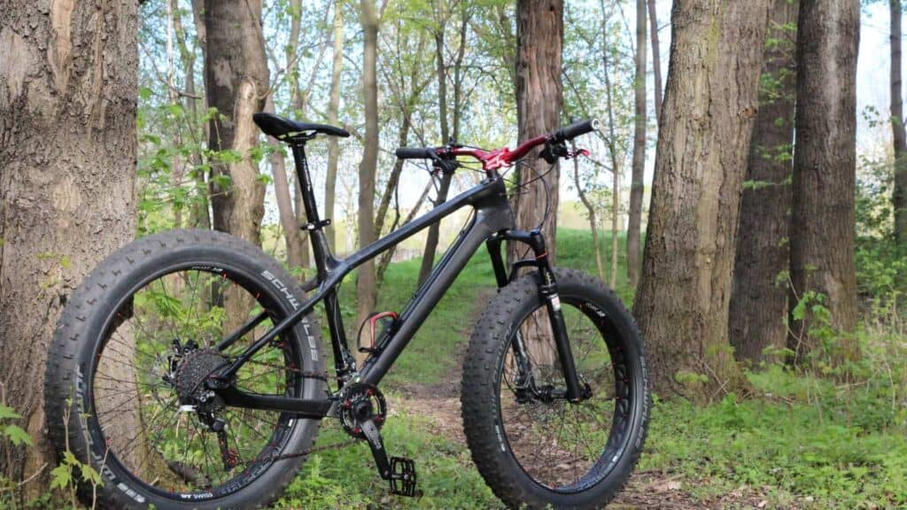 fat tire bike for big and heavy women